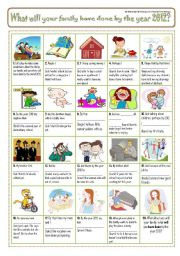 English Worksheet: FUTURE PERFECT - PiCtUrE StOrY 2!