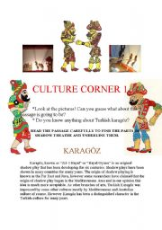English Worksheets: Karagöz and Hacivat