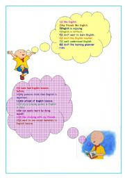 English Worksheets: A questionnaire to learn beginner learners�  attitudes