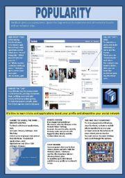 English Worksheet: Facebook (3 - 3)