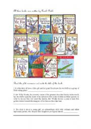 birth and fate by roald dahl Roald dahl was born in 1916 at villa marie, fairwater road, in llandaff,  2016,  to mark the centenary of dahls birth, his letters to his mother were abridged and   the story the landlady, the version of which only hints at character billys fate.