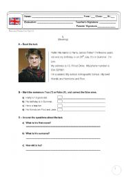 harry potter comprehension activities essay Here you can find worksheets and activities for teaching harry potter to kids, teenagers or adults, beginner intermediate or advanced levels.