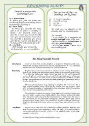 Short Descriptive Essays Examples