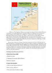 English Worksheet: The Kingdom of Morocco