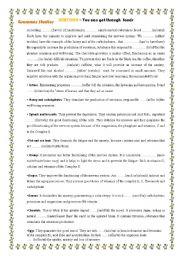 English Worksheets: SERETONIN - through foods