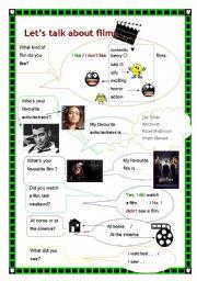 Let´s talk about films!