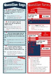 English Worksheet: Questions bookmark