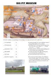English Worksheet: Big Pit Museum - Wales