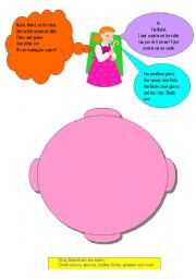 English Worksheets: Help Mabel set the table