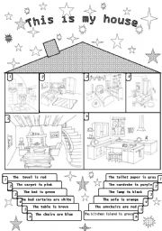 coloring pictures of parts of the house - house and home design
