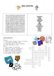 English Worksheets: Zodiac Worksheet 2