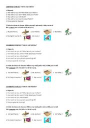 English Worksheet: Hobbies and talents Grammar exercises