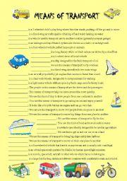 english worksheets means of transport worksheets page 18. Black Bedroom Furniture Sets. Home Design Ideas