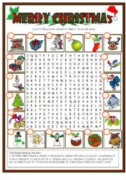 and traditions christmas christmas word search christmas wordsearch bw ...