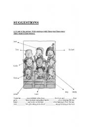 English Worksheets: suggesstions