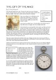 the gift of the magi worksheets