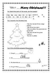 Merry Christmas - ESL worksheet by Sasha_ru
