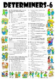 English Worksheet: Exercises on �A� and �AN� (Editable with Key)