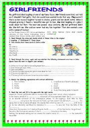 English Worksheet: LAUGHING