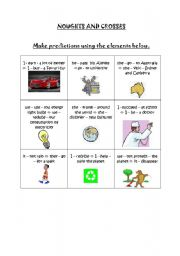 English Worksheets: Noughts and crosses IF