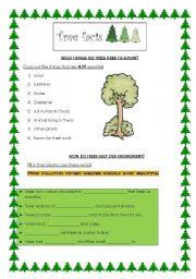 8 FREE ESL deforestation worksheets