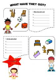 English Worksheets: what have they got?