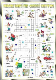 English Worksheet: Phrasal Verbs (Eighth series). Crossword (Part 3/3)