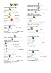 English Worksheets: fireflies