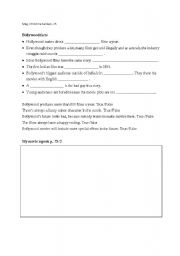 English Worksheet: Bollywood
