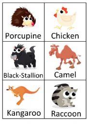 English Worksheets: Animals (7)