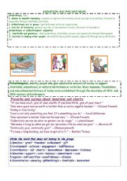 English Worksheets: DONATION AND PHILANTHROPY