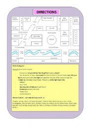 english teaching worksheets asking the way. Black Bedroom Furniture Sets. Home Design Ideas