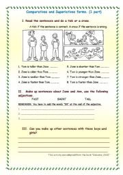 Comparatives and Superlatives activities