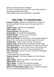 English Worksheet: Short drama for young learners