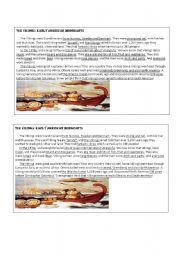 English Worksheet: reading THE VIKINGS