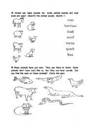 English Worksheets: 5 senses (7th part)