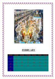 English Worksheets: FEBRUARY