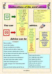English Worksheet: ASKING, GIVING, RECEIVING OR REFUSING ADVICE - part 2