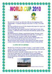 English Worksheet: World Cup 2010