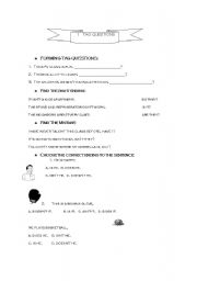 English Worksheets: Tag Questions 3