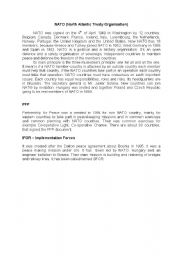 English Worksheets: NATO