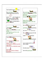It's just a photo of Comprehensive The Ant and the Grasshopper Story Printable