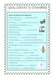 Verbs followed by Propositions