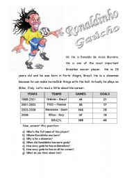 English Worksheets: A showman - Reading and comprehension/WH-questions