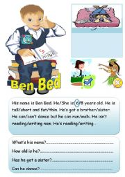 English Worksheets: Who is Ben?