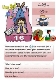 English Worksheets: Describe 2