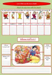 snow white and the seven dwarfs script pdf disney