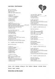 English Worksheets: Lady Gaga - Bad Romance activity