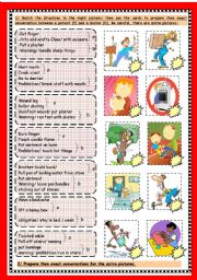 English Worksheet: what´s the matter 2/2+ key to part 1/2