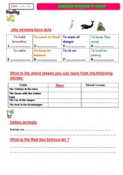 English Worksheets: from Noah�s ark